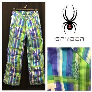 Kids Spyder Ski Pants GUC